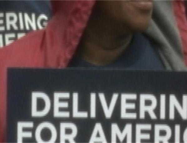 Mail Carriers Rally In LR For Six Day Delivery_-1964169453940880921