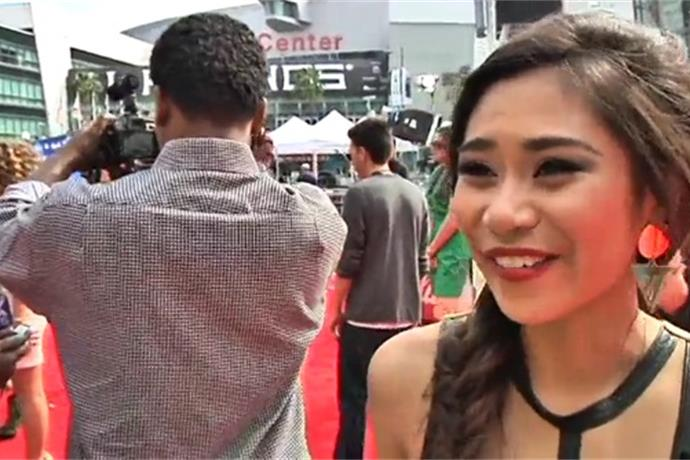 Web Extra_ Former Idol Runner-up Offers Advice to Kree_-1173947590217873173