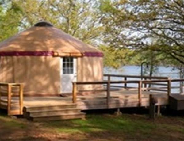 Rent-a-Yurt at Petit Jean State Park_-4426783386915944446
