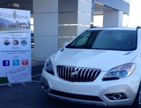 Buick Encore for Arkansas Foodbank _Drive Away Hunger_ campaign._2154325918904372384