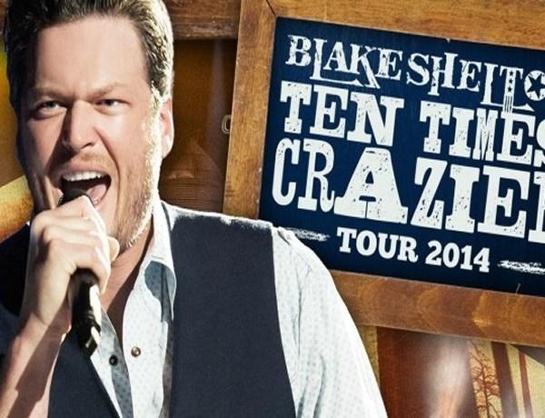 Blake Shelton Ten Times Crazier Tour 2014_-4865540202452205523