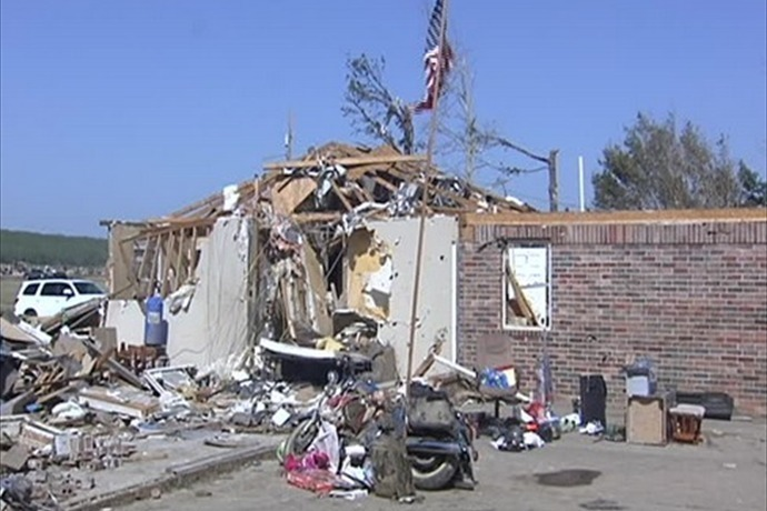 Tornado Damage in Vilonia_8877324998982781898
