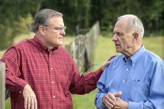 U.S. Sen. Mark Pryor and his father, former U.S. Sen. David Pryor_-1967113235709997276
