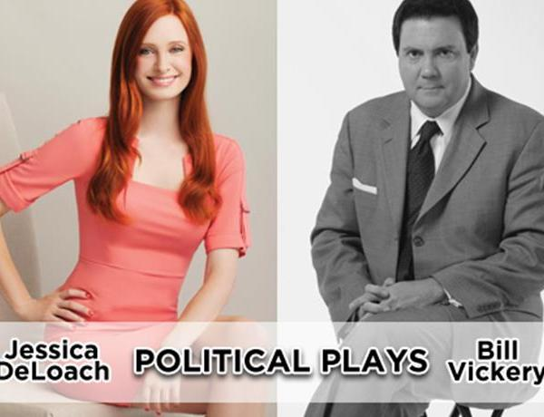 Bill Vickery and Jessica DeLoach Talk Governors Race in Politcal Plays_-7989172183297144799
