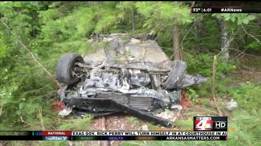 Man Survives Car Crash That Kills His Brother, Trapped for 2