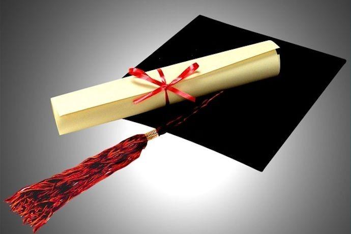 Diploma and Cap_4138940516177692798