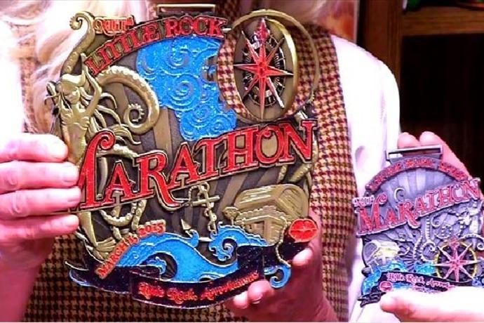 Little Rock Marathon 2015 medal_5748727712166398857
