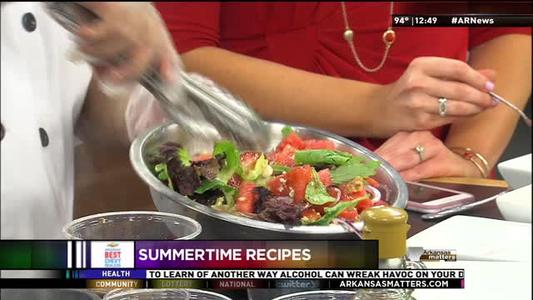 Strawberry Watermelon Salad, Grilled Peaches Continued_1868447088213771501