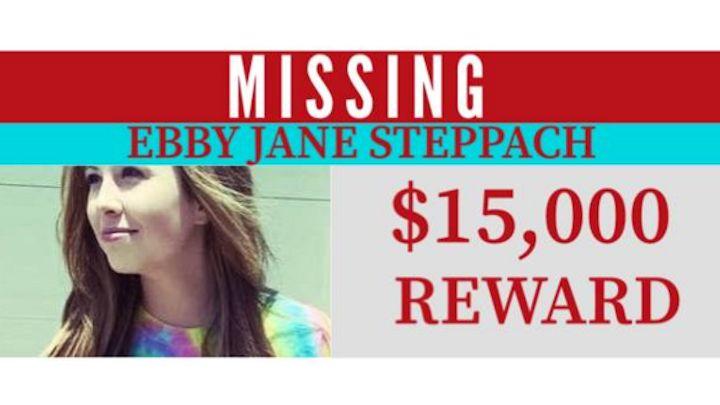 Ebby Steppach $15K Reward