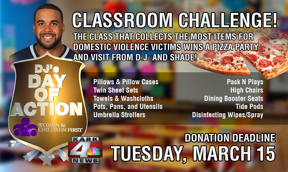 DJ's Day of Action Classroom Challenge