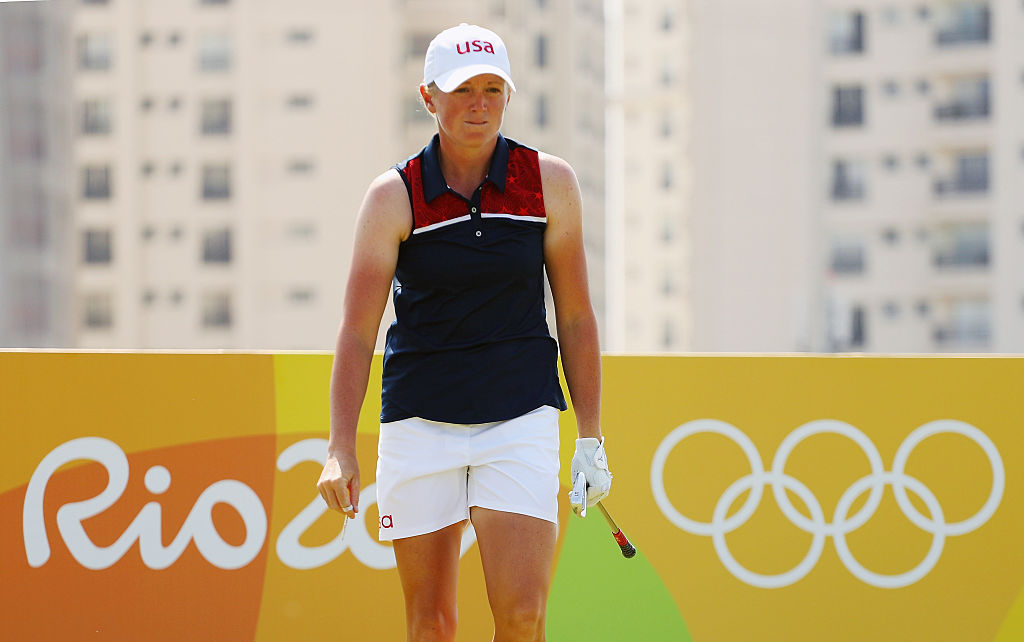Stacy Lewis in Rio on Aug. 17