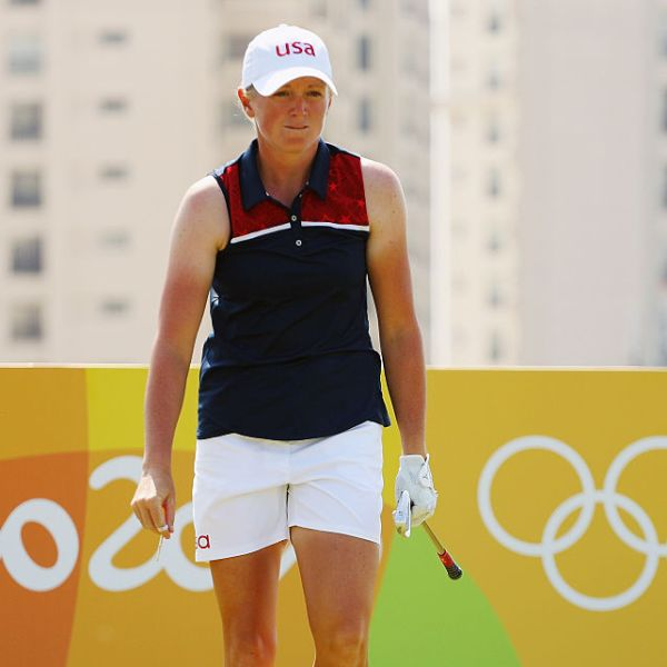 Stacy Lewis in Rio on August 18