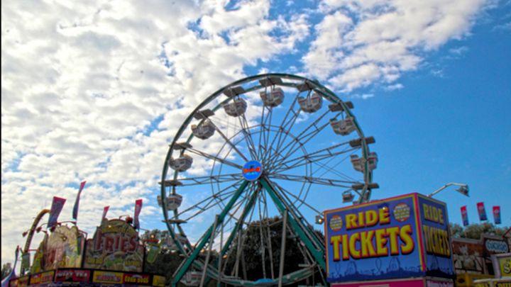 Arkansas State Fair 2016 Ferris Wheel