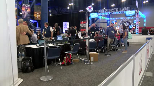 Radio Row at Super Bowl LI