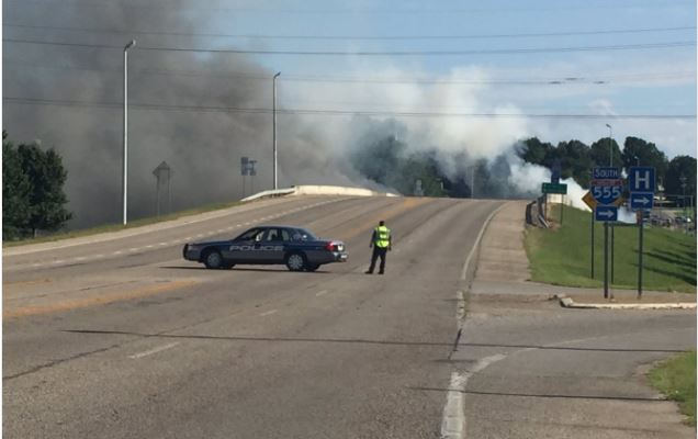 Truck Driver Killed in Jonesboro Accident, Overpass Damaged