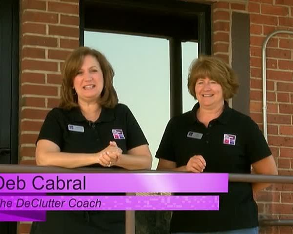 The DeClutter Coach helps a family business get organized