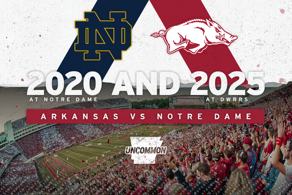 Nd Schedule 2020 UA to Play Notre Dame in 2020