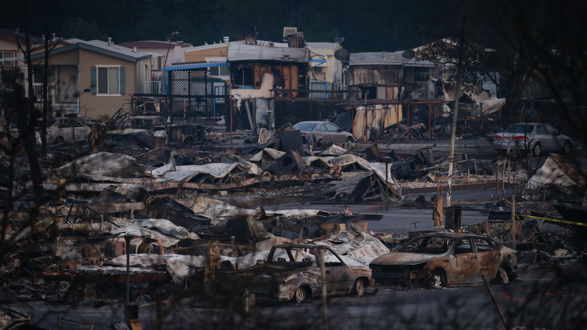 California wildfires, Santa Rosa, mobile home park burned down25911528-159532