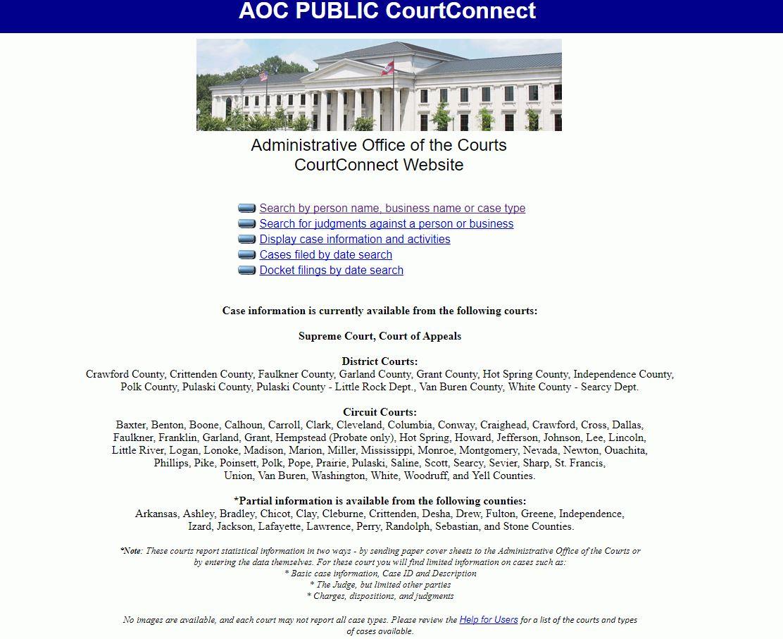 Greene County Court Docket
