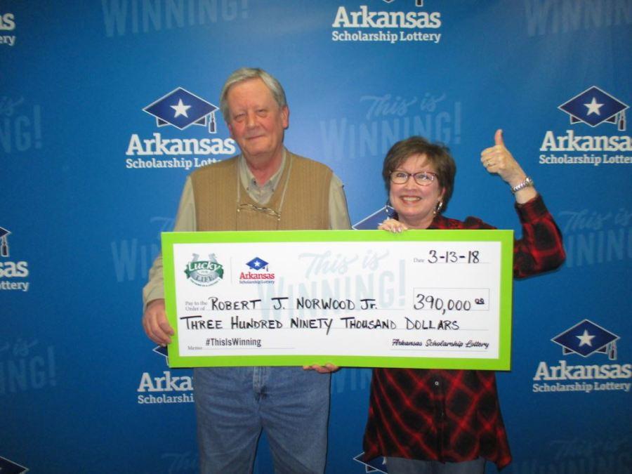 Big Lottery Win in Little Rock