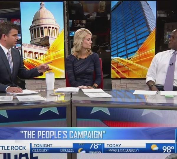 Little Rock mayor candidate Vincent Tolliver