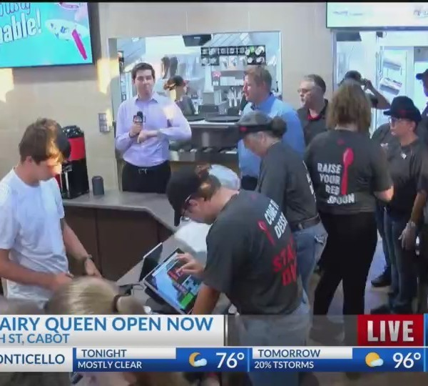 New Dairy Queen Open in Cabot