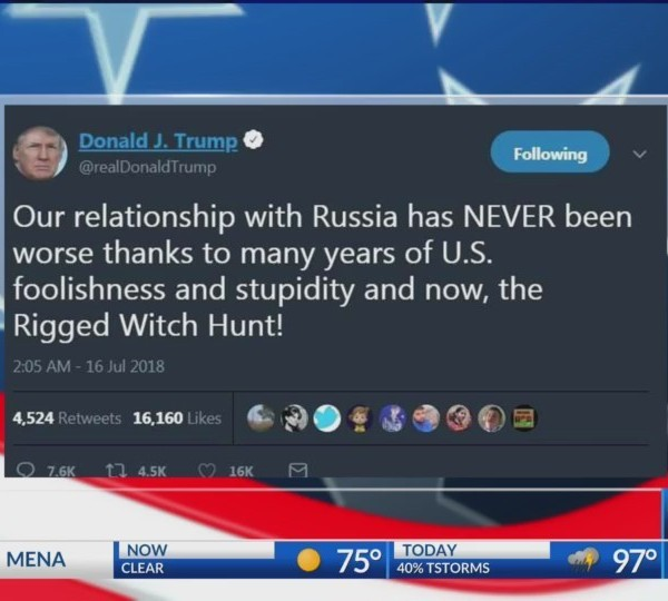 Political Plays - Trump/Putin Summit