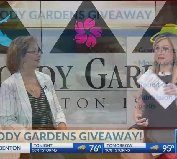 Win a Trip to Moody Gardens