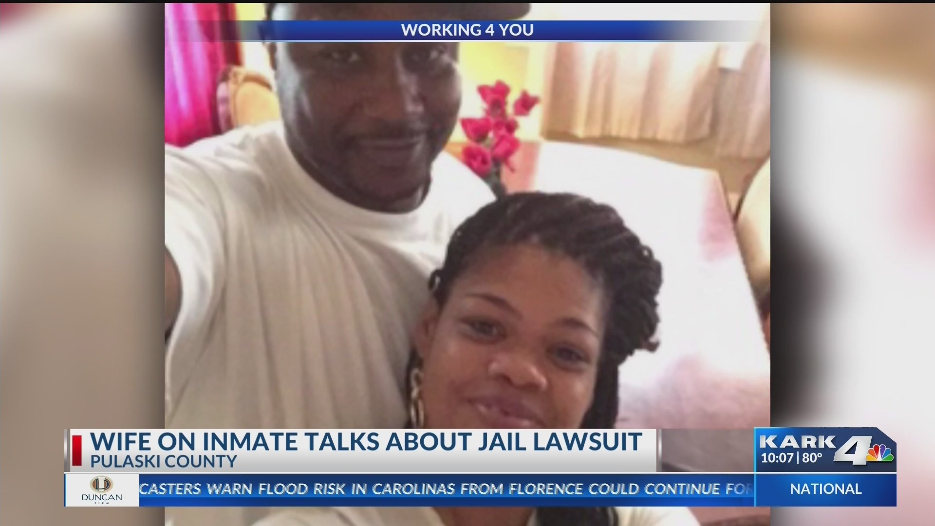 Inmate's Wife Explains Why Husband Joined Group Suing Jail