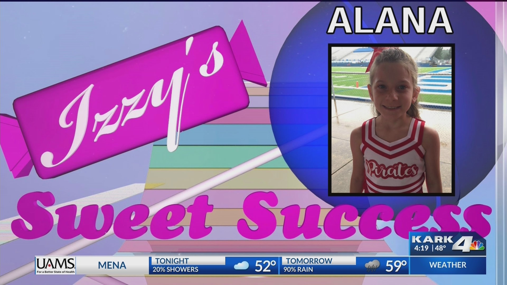 Izzy's Sweet Success: Alana