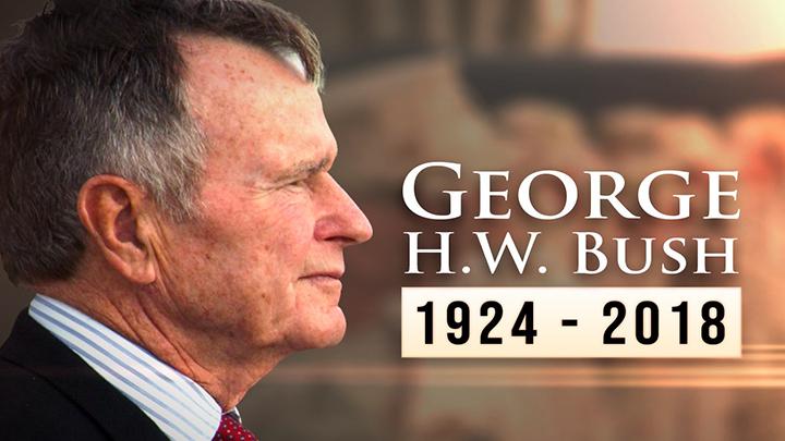 George Bush Dies at 94 - 720-54787063