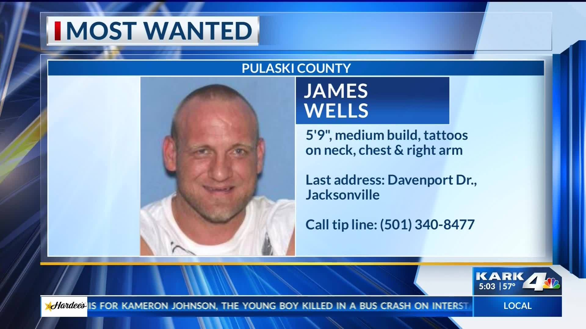 Most Wanted: James Wells