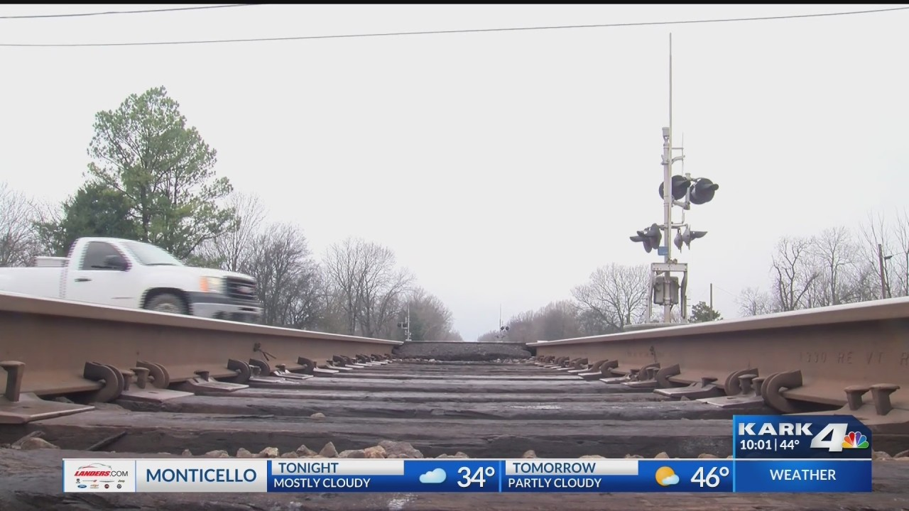Concern After Stopped Train Blocks Town's Only Railroad Crossing for