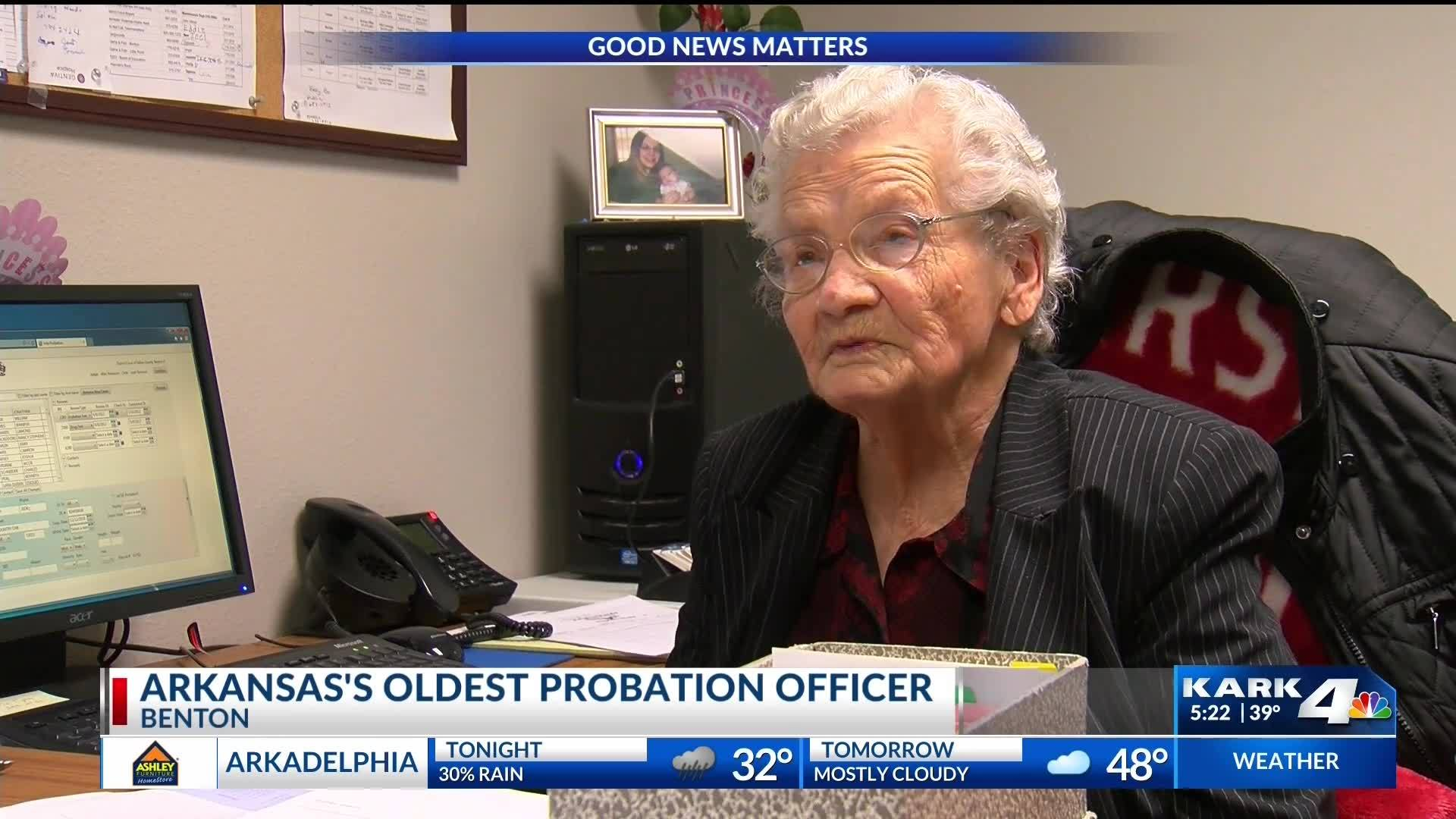 Arkansas's Oldest Probation Officer