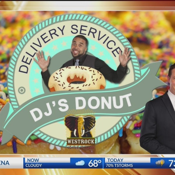 DJ Donut Delivery - National Weatherperson Day