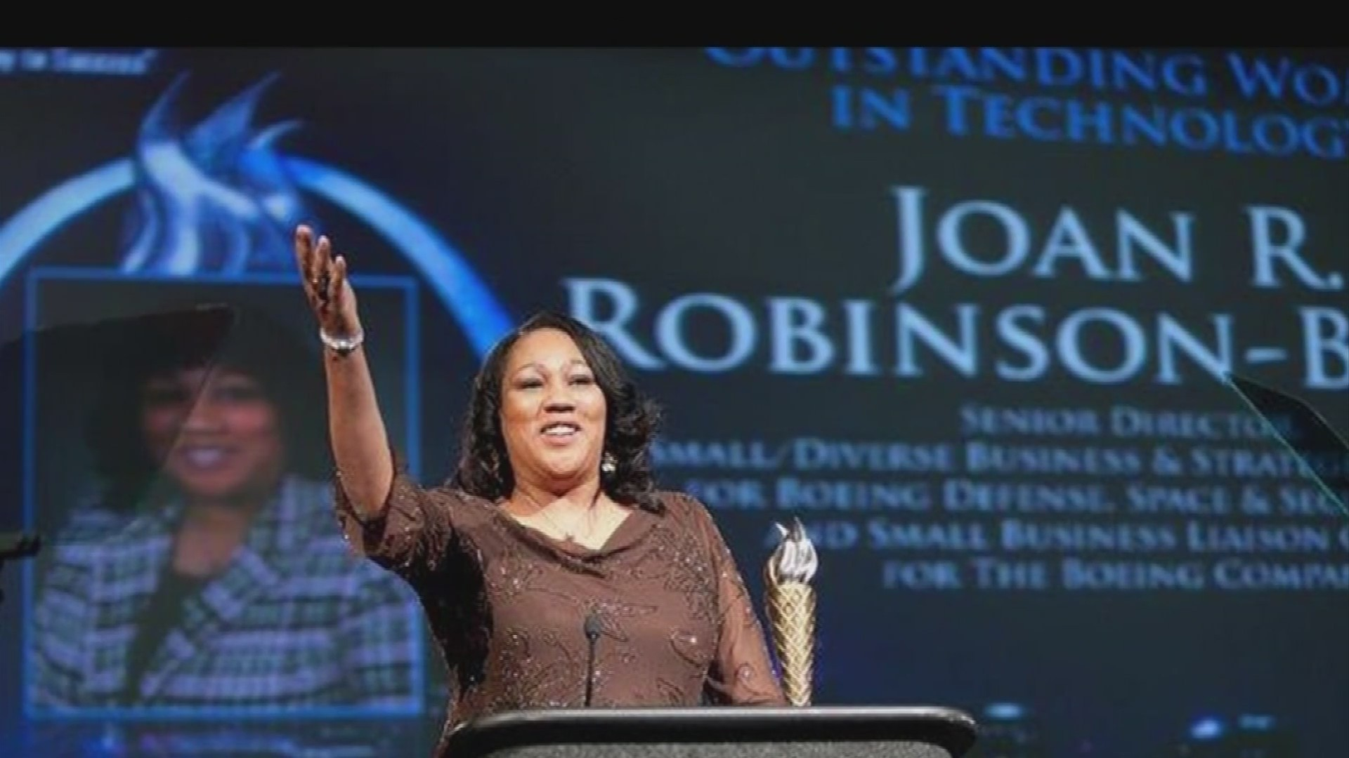 VIDEO: Boeing's Joan Robinson-Berry