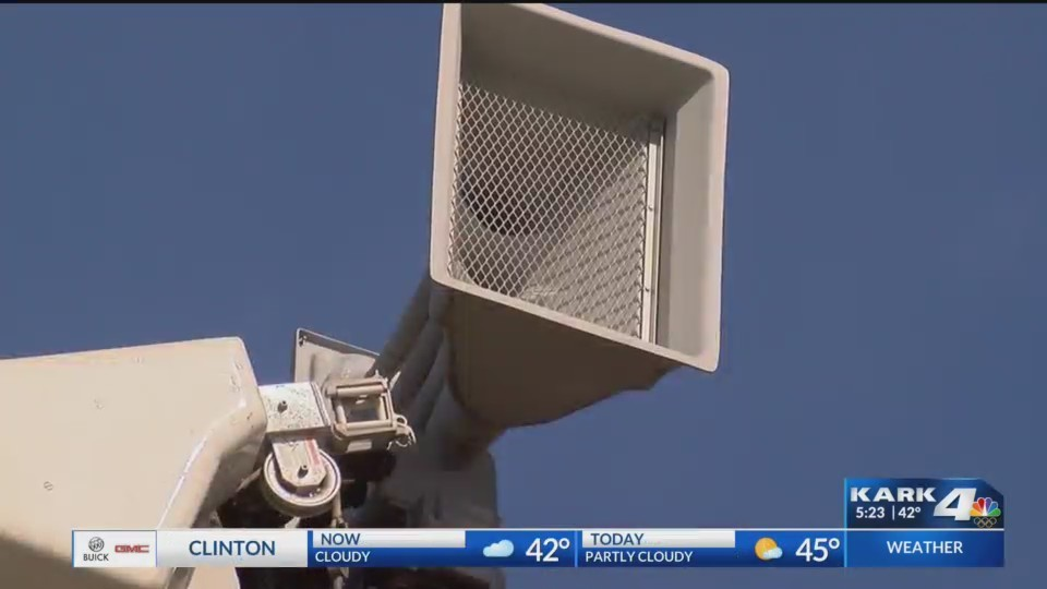 Little Rock tornado siren delay prompts changes