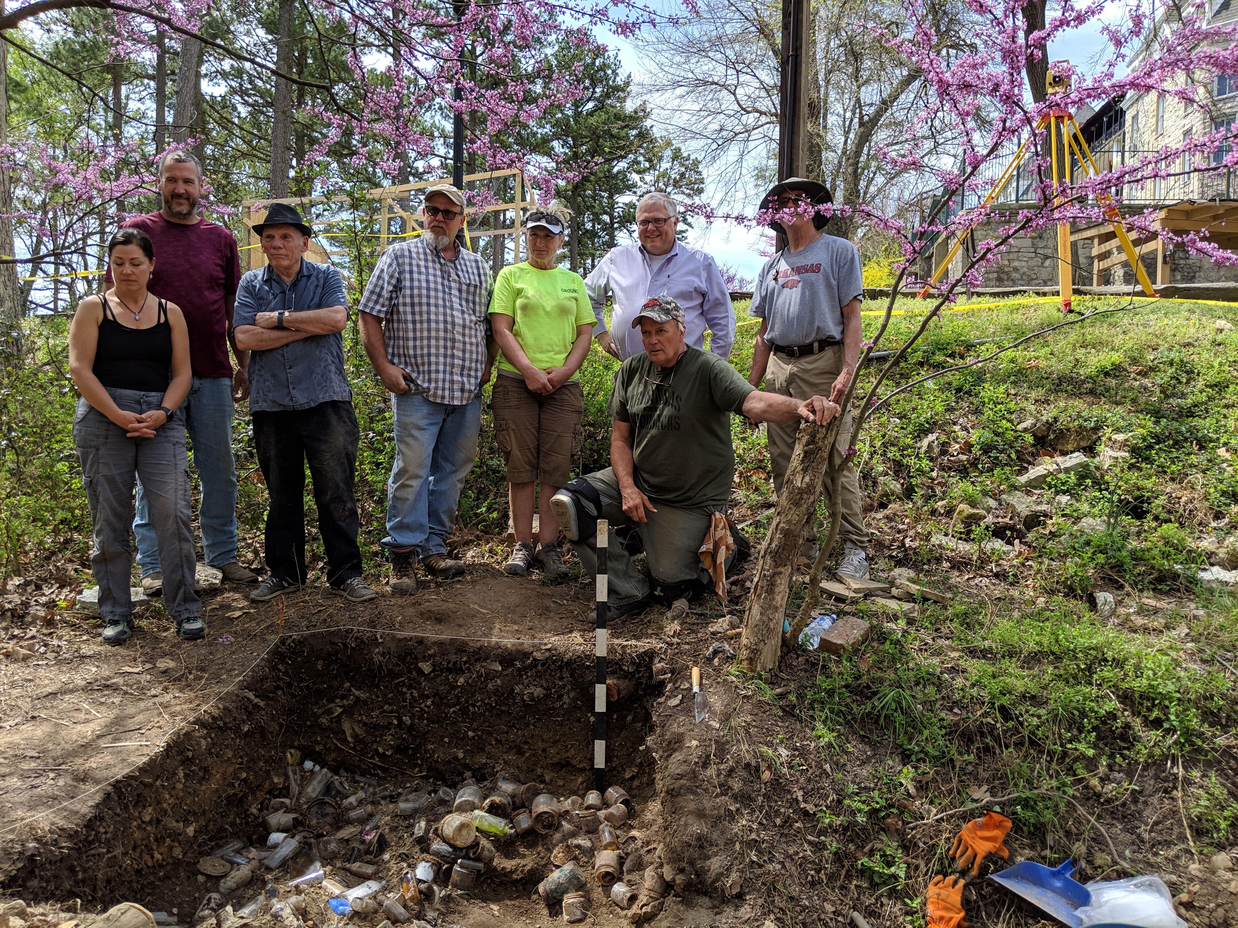 Digging up hotel history in Eureka Springs