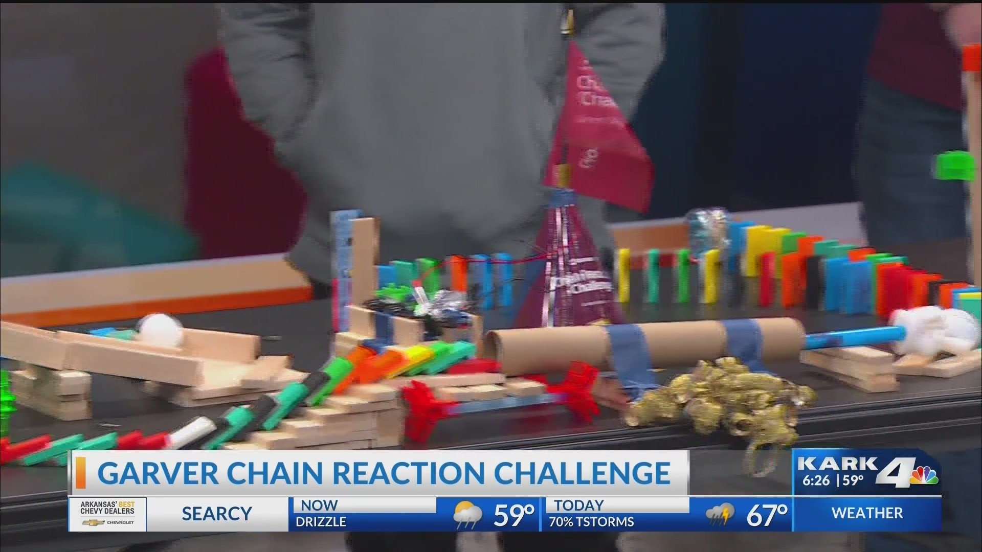 Garver Chain Reaction Challenge