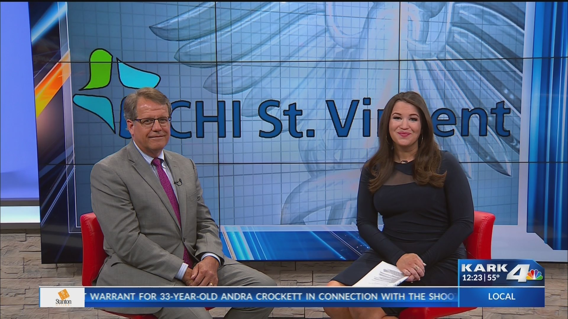 KARK 4 News - CHI St. Vincent 3/8