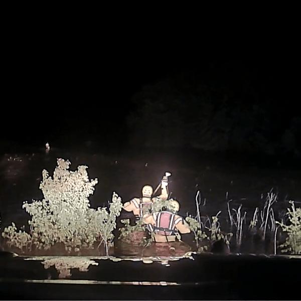 Swift water rescue in Emporia-846624078