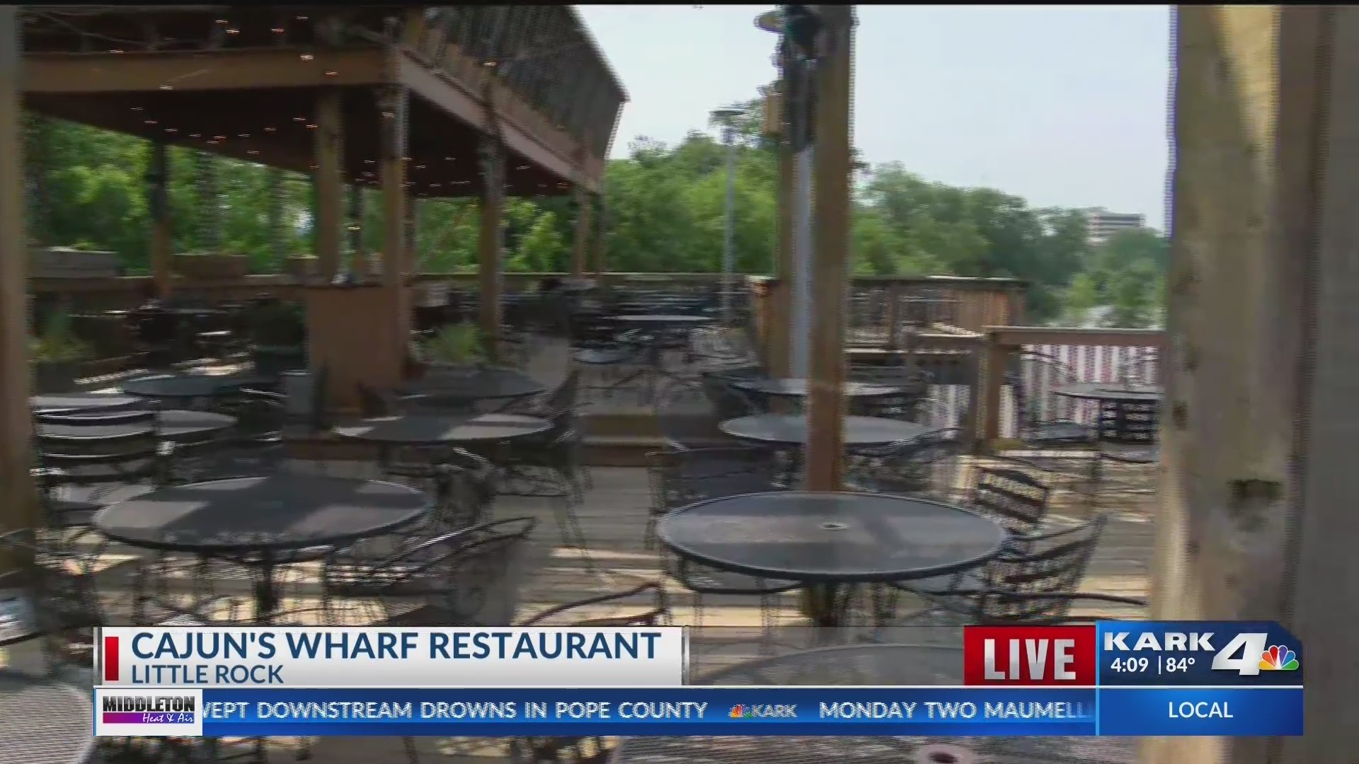 Saying Goodbye To Cajun S Wharf
