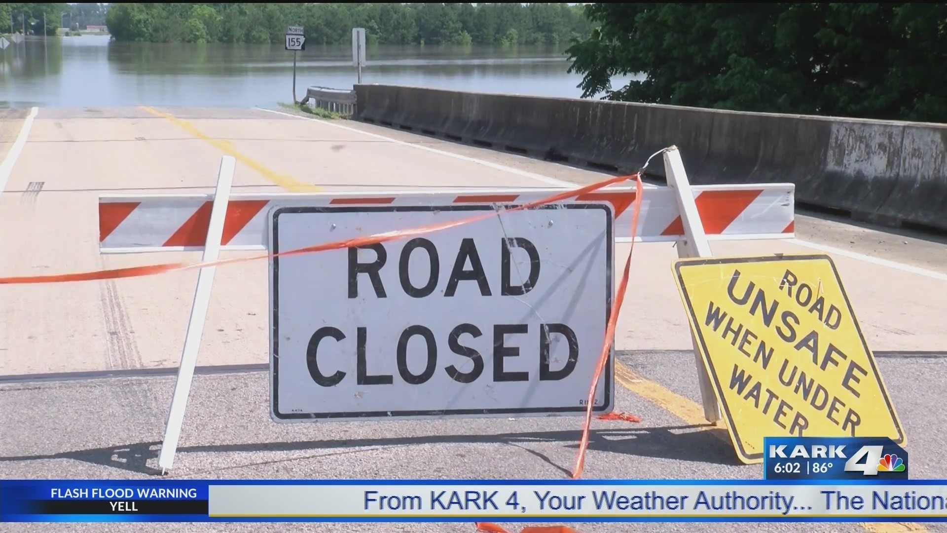 Levee Breach Forces Homeowners to Evacuate
