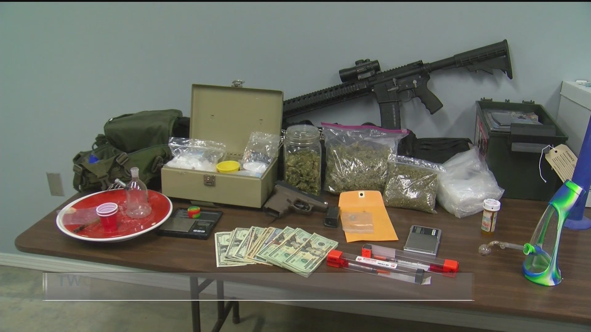 Two arrested after drug bust in Mayflower