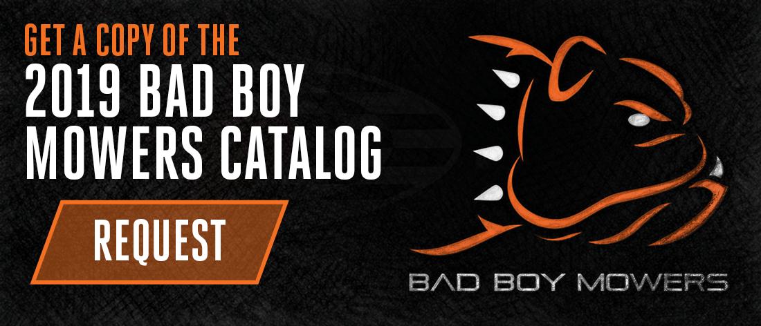 Get A Copy Of The 2018 Bad Boy Mowers Catalog