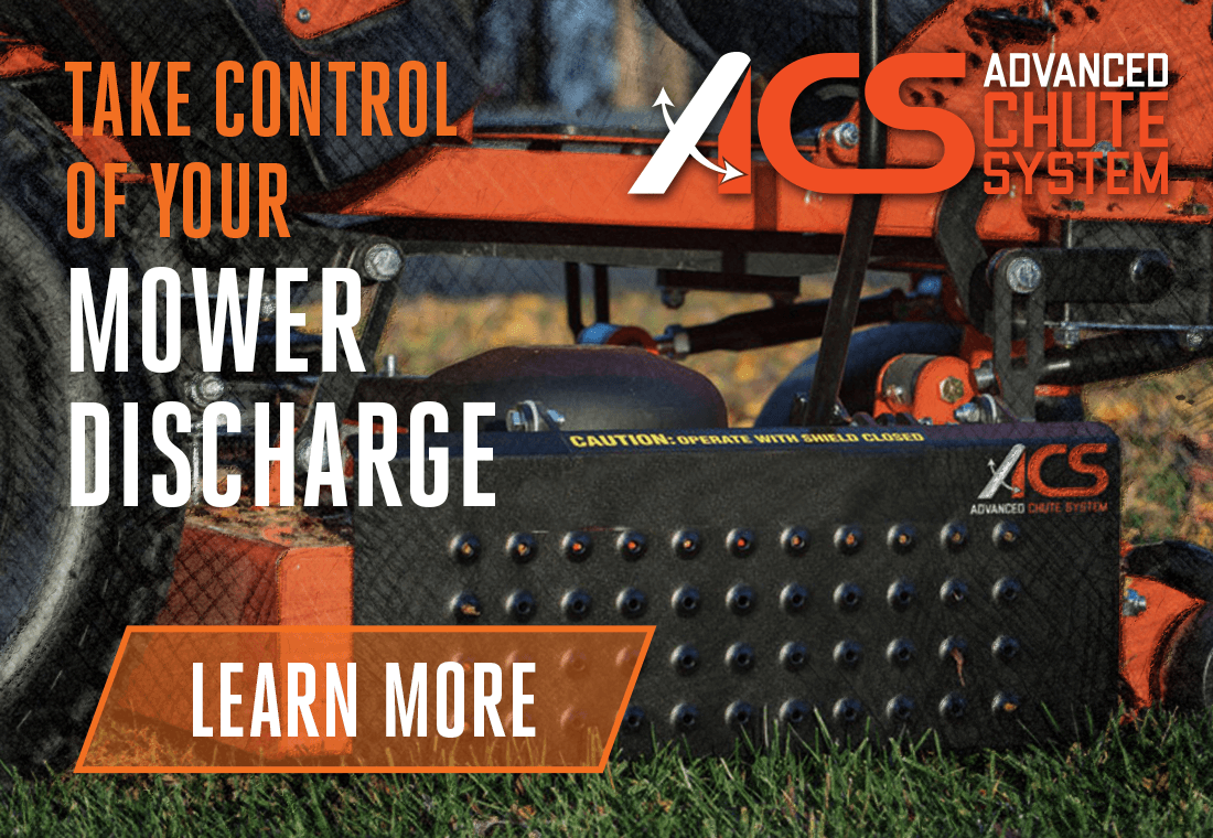 Take Control Of Your Mower Discharge With The Advanced Chute System