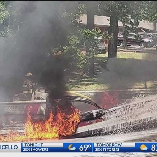 Family injured in boat explosion