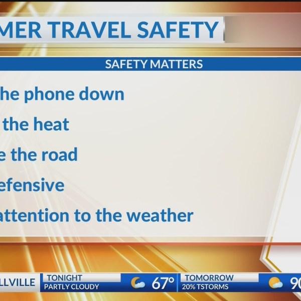 SUMMER SAFETY TRAVEL