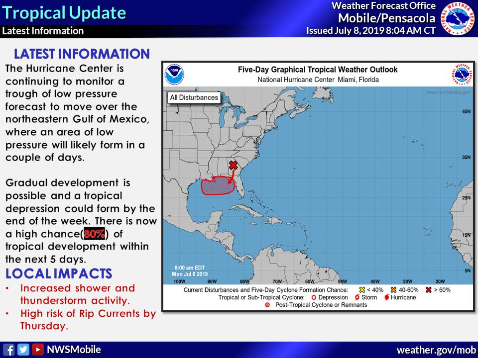 Newsfeed Now for July 8: Tracking the Tropics