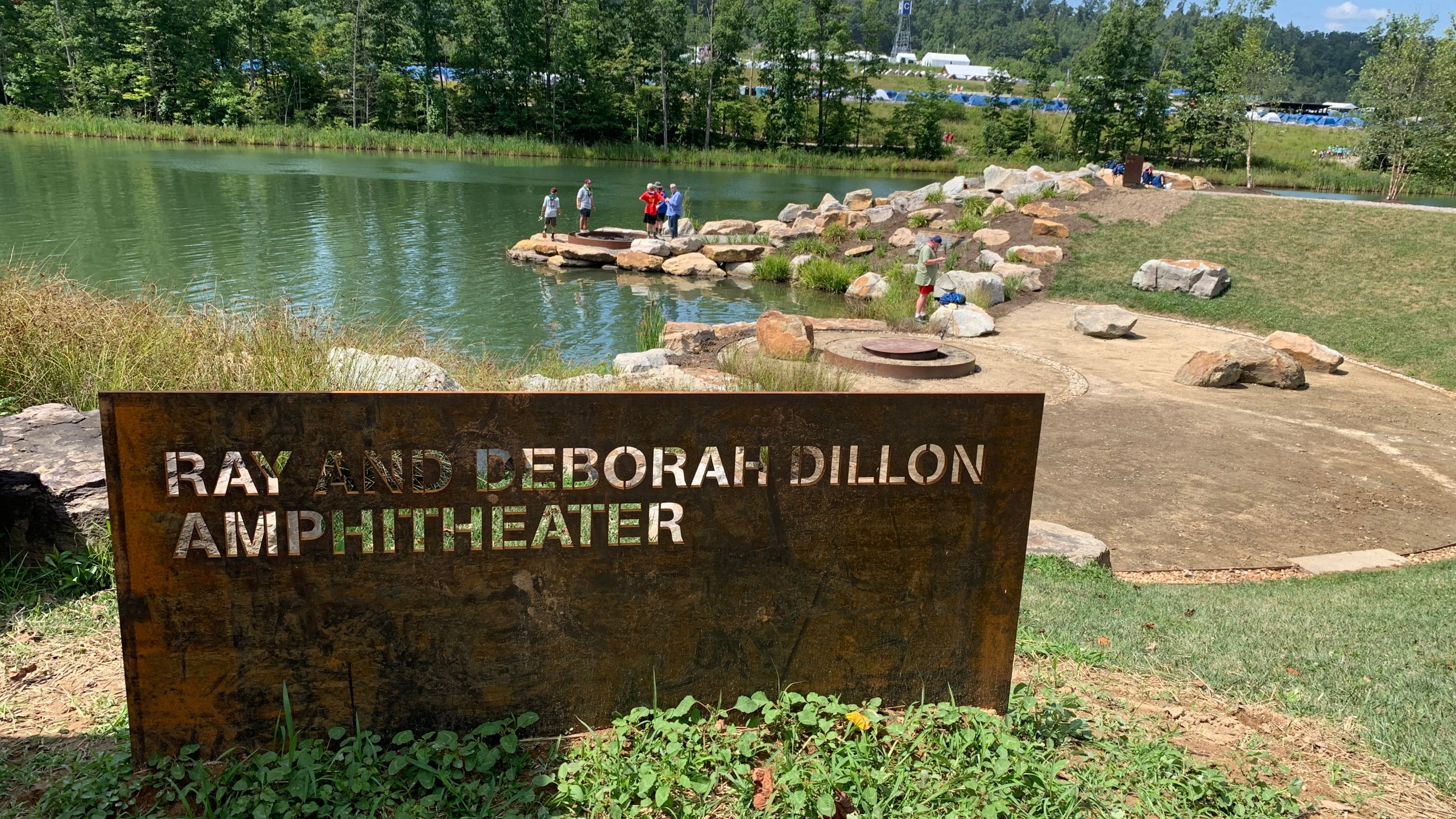 Dillon Amphitheater dedicated after Little Rock resident at